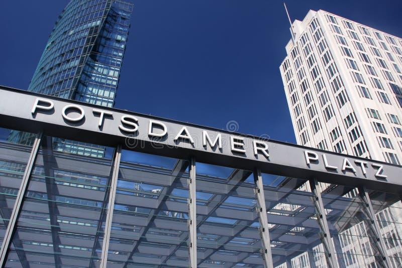 Download Potsdamer Platz stock image. Image of iron, modernism - 25553331