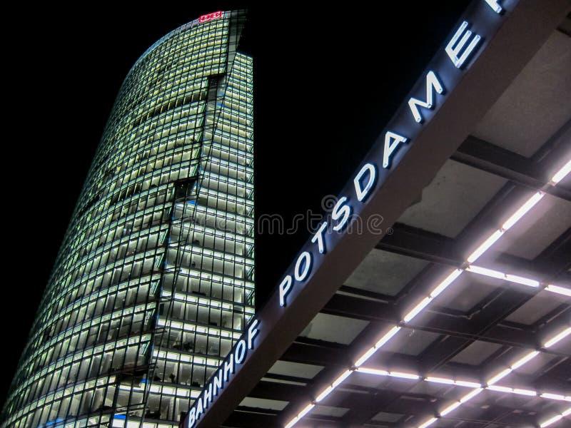 Potsdamer Platz стоковое фото