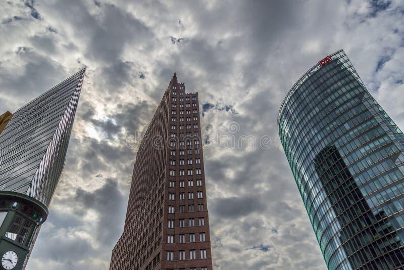 Potsdamer Platz - Berlijn royalty-vrije stock foto's