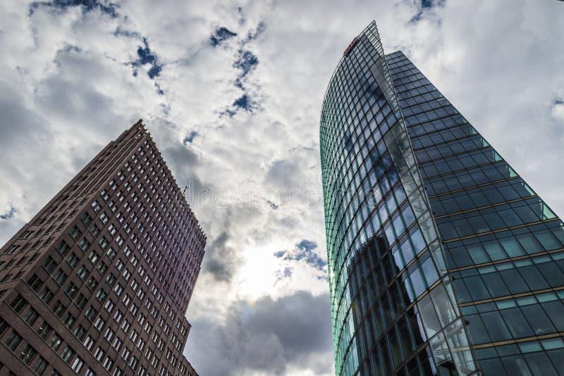 Potsdamer Platz - Berlijn stock afbeeldingen