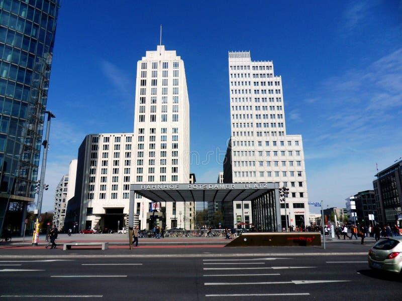 Potsdamer Platz - centro de Beisheim foto de stock