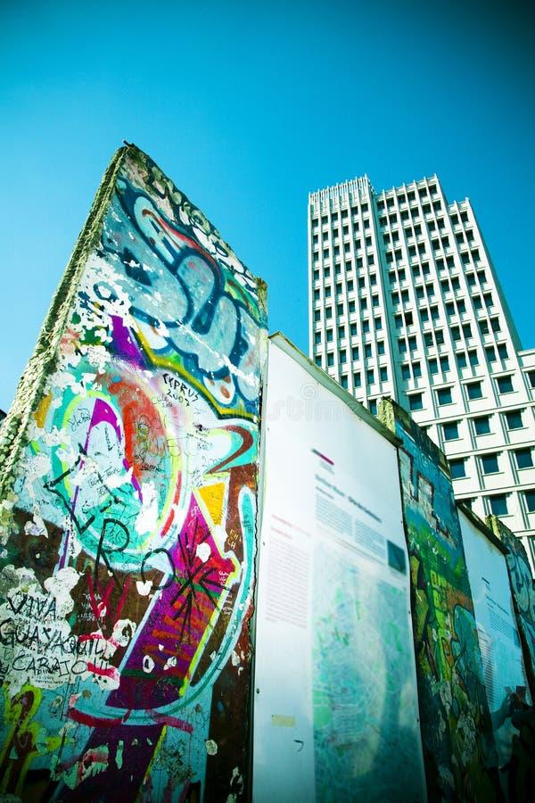 Potsdamer Platz wall royalty free stock images