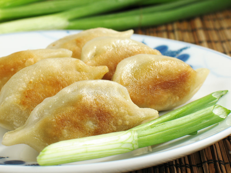 Potstickers royalty free stock photo