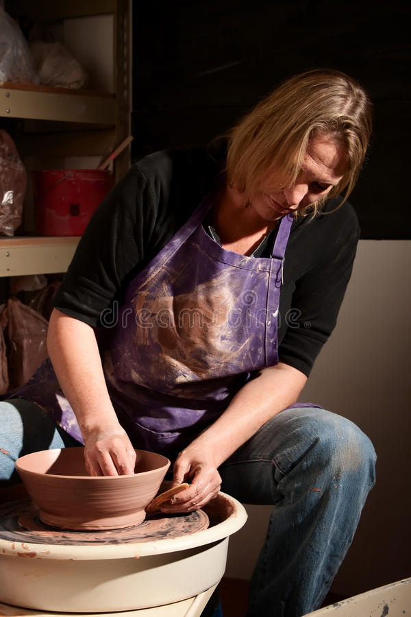 Download Potter stock image. Image of profession, bowl, ceramic - 13124659