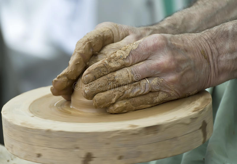 Download Potter stock photo. Image of shaping, manual, crafts - 19110508