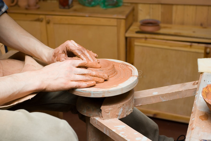 Potter stock image