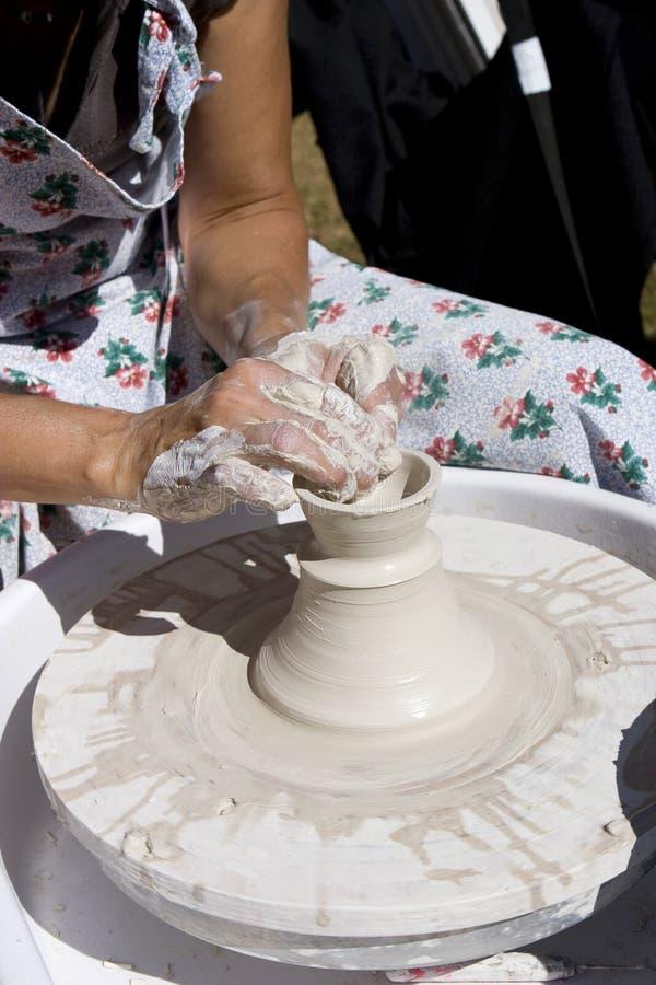 potter! zdjęcie stock