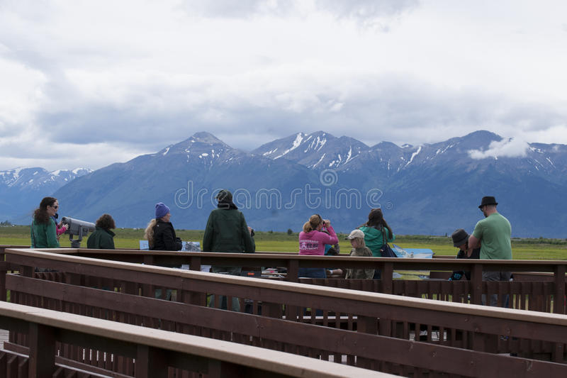 Download Potter Marsh Wildlife Refuge Anchorage Alaska Editorial Photo - Image of game, 2015: 56255286