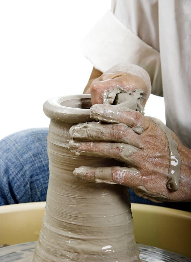 Potter's art stock photos