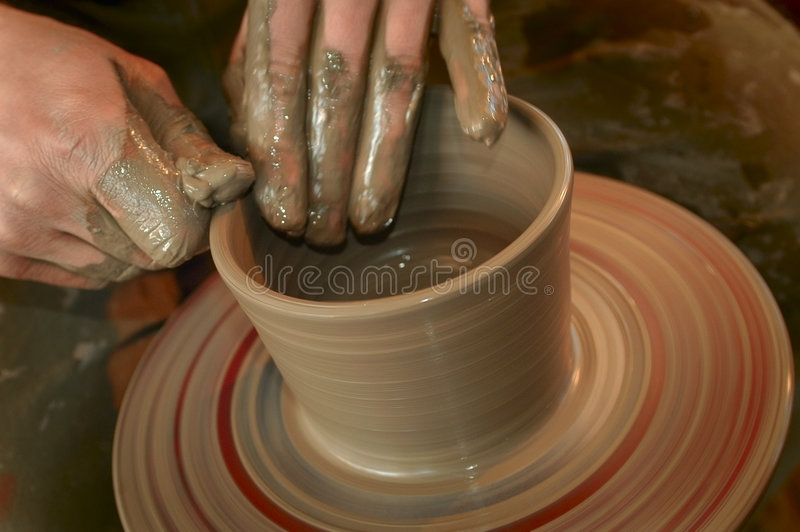 Download Potter's hands stock image. Image of business, patience - 2246057