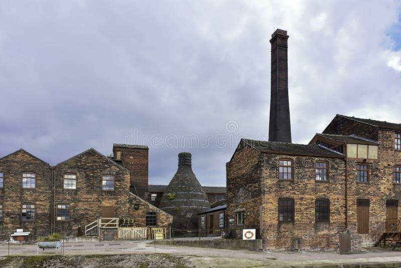 Potteries adentro alimenta en Trent, Reino Unido fotos de archivo libres de regalías