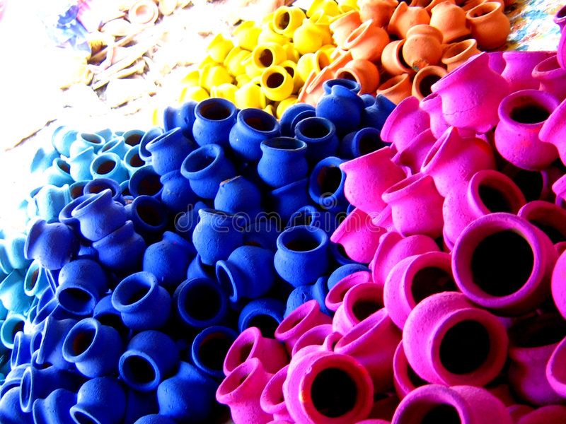 Download Potters Shop stock photo. Image of backgrounds, colourful - 1622210