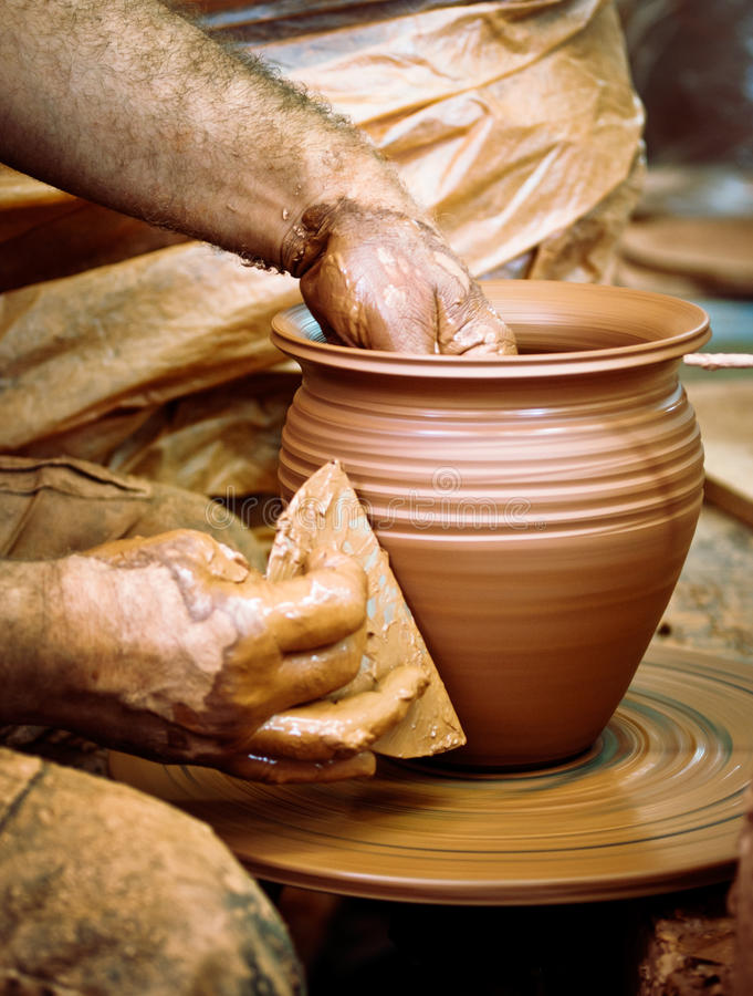 Download Potters tool stock image. Image of workshop, creation - 26492641