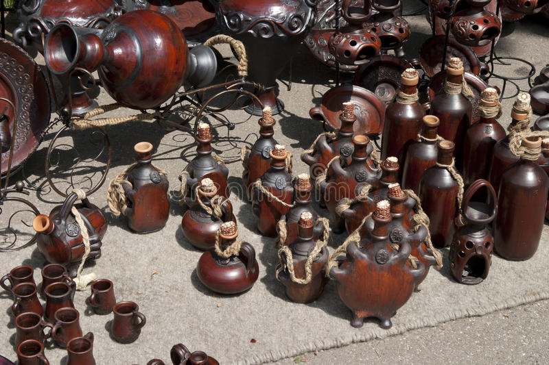 Download Pottery stock photo. Image of trade, many, slate, empty - 15551070