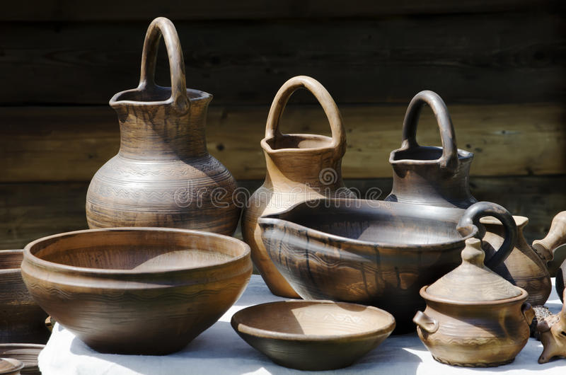 Download Pottery stock photo. Image of kitchen, table, earthenware - 24859534