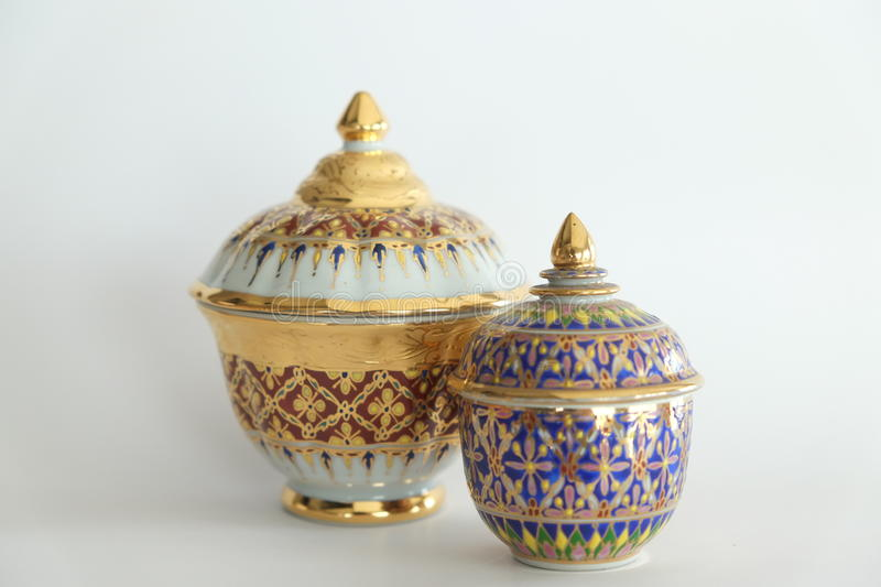 Pottery crock asia royalty free stock photography