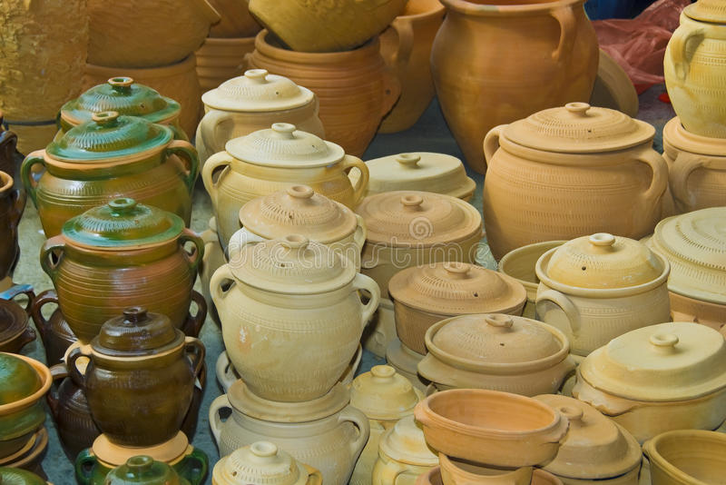 Download Pottery earthenware stock image. Image of form, handmade - 11413981