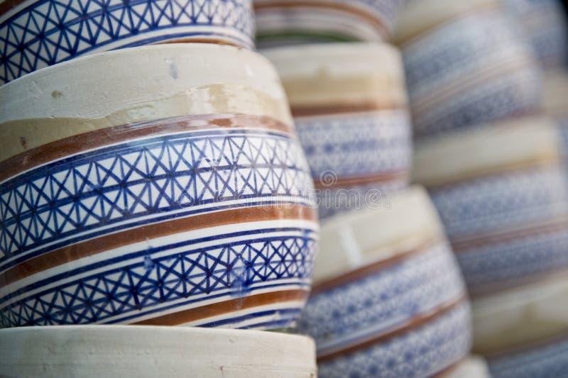Pottery Handiwork Royalty Free Stock Images
