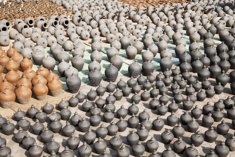 Download Pottery Making, Bhaktapur, Nepal Royalty Free Stock Image - Image: 12747826