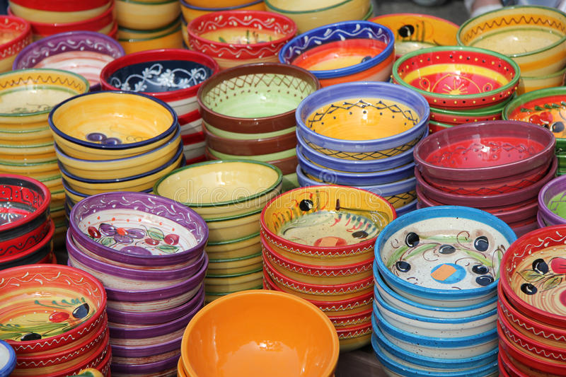 Download Pottery in the Provence stock photo. Image of provence - 26977408