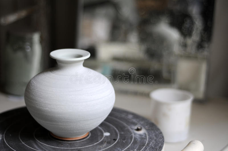 Pottery Shop stock images