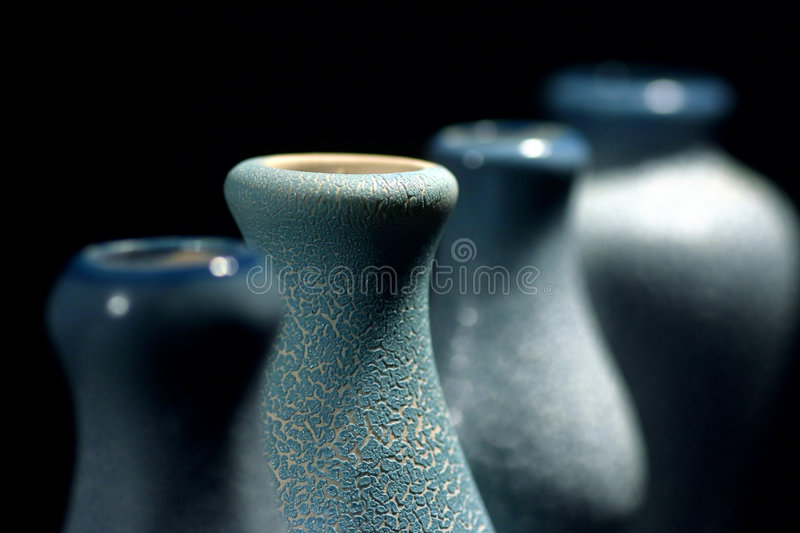 Pottery vase stock photography