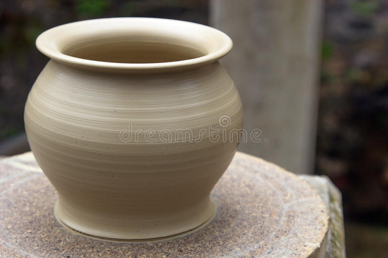 Pottery vase royalty free stock photography