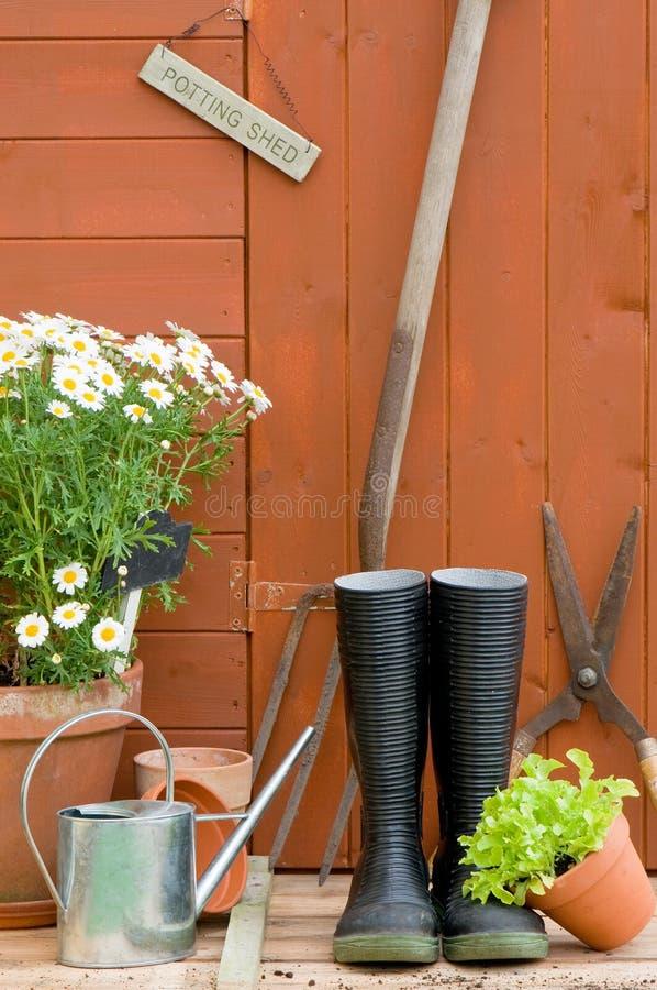 potting υπόστεγο στοκ εικόνες με δικαίωμα ελεύθερης χρήσης
