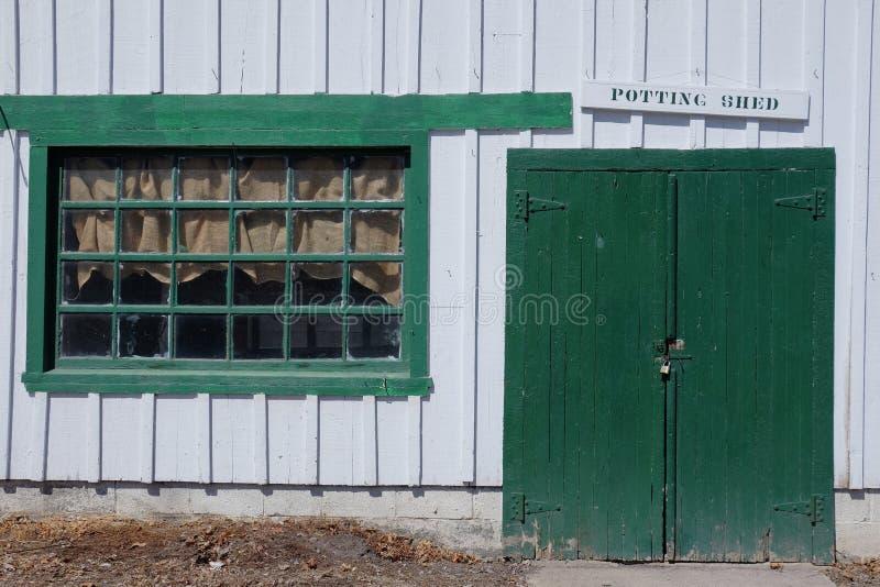 Potting-Halle stockbild