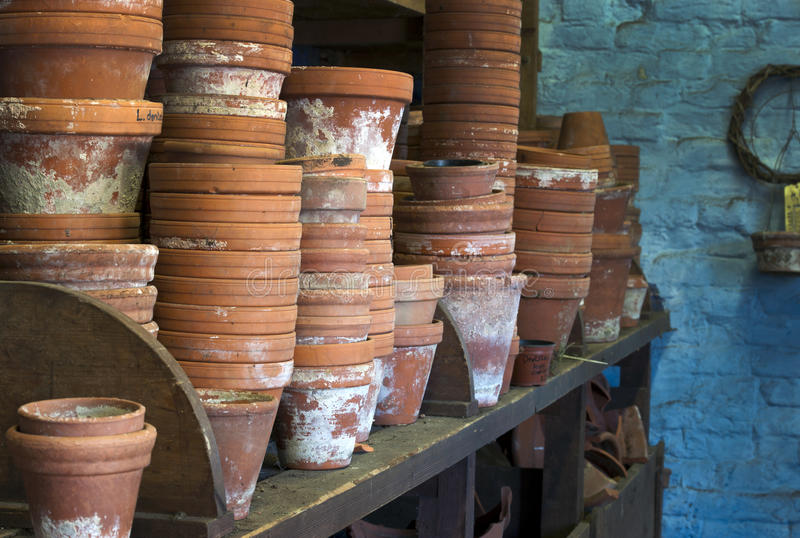 Potting Shed royalty free stock photo