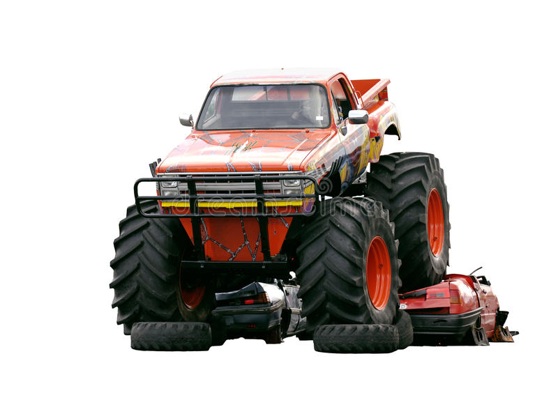 potwór ciężarówka zdjęcia royalty free