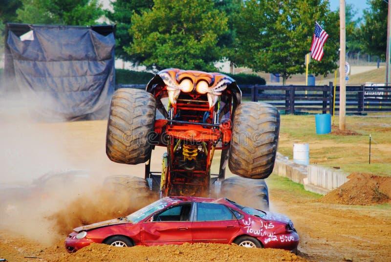 Potwór ciężarówki Prowler zdjęcie royalty free