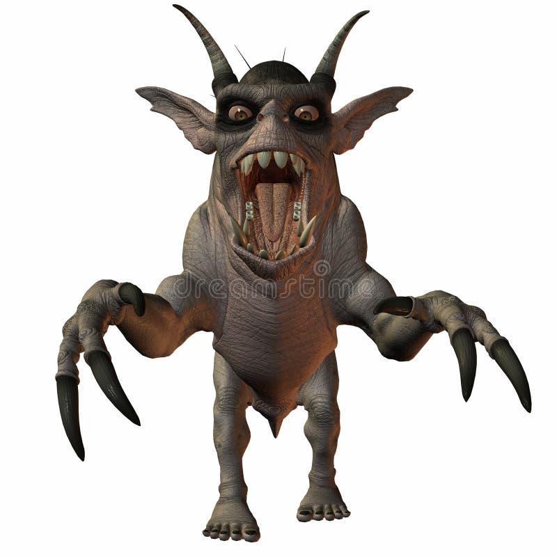 potwór fantazji ilustracja wektor