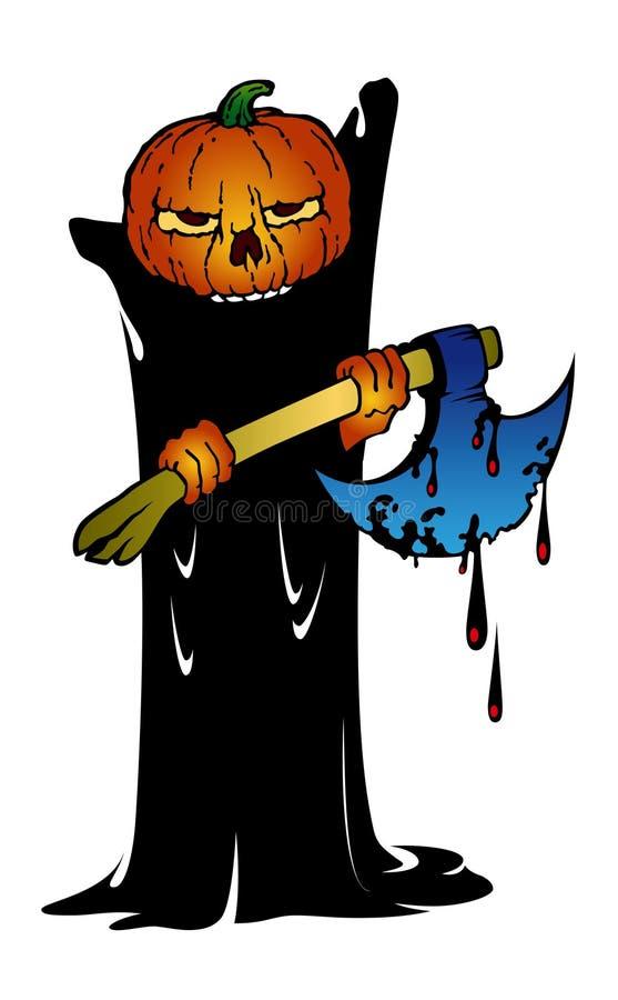 potwór halloween. ilustracja wektor