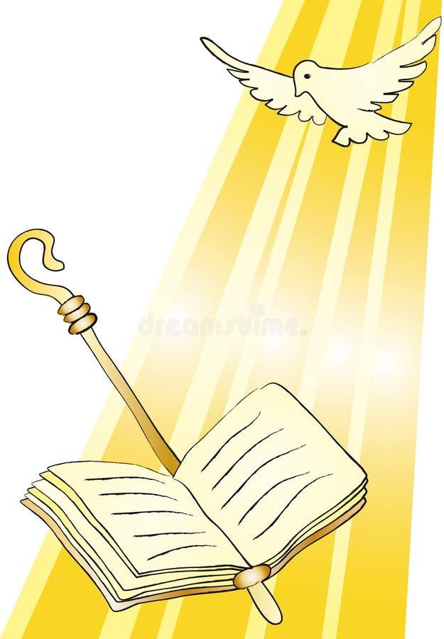 potwierdzenie święty ilustracja wektor