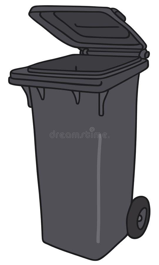 poubelle illustration de vecteur