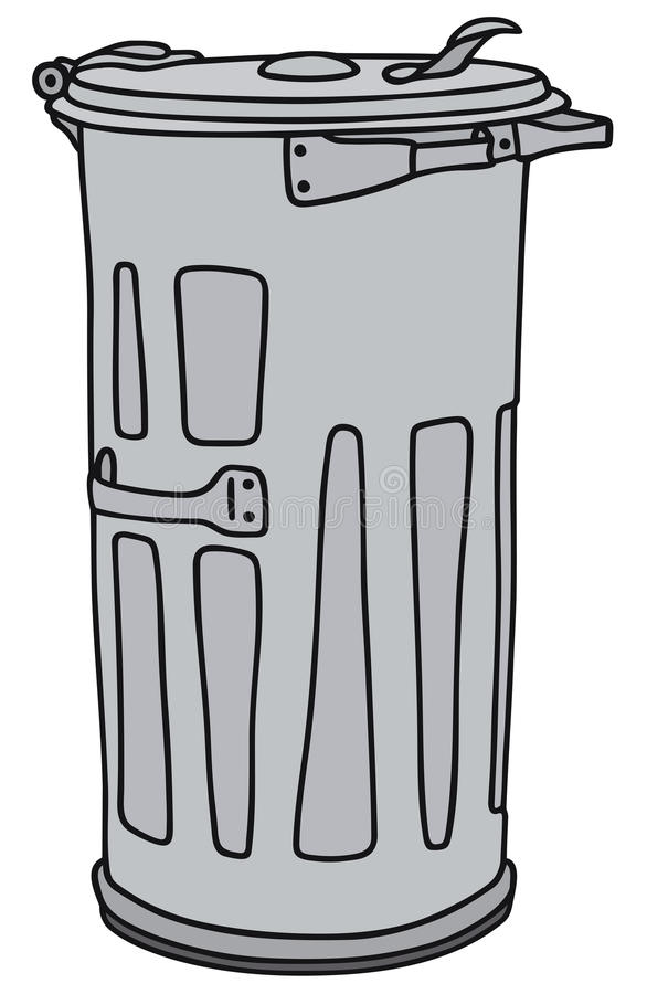 poubelle illustration libre de droits