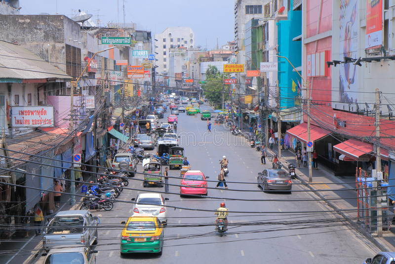Pouca Índia Banguecoque Tailândia foto de stock
