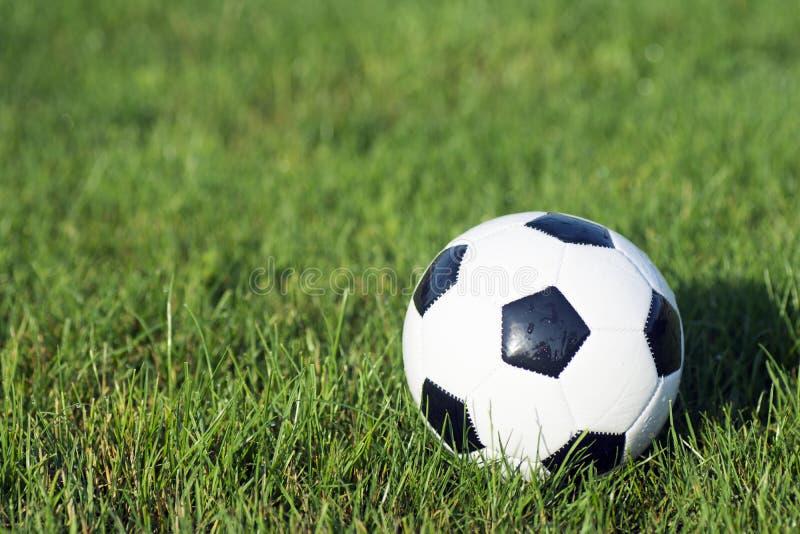 Pouca bola do futebol imagens de stock royalty free
