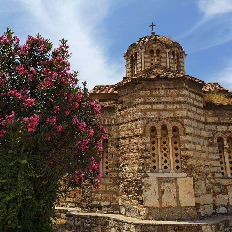 Download Pouca capela em Atenas imagem de stock. Imagem de arquitetura - 16859469