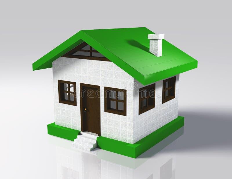 Pouca casa ilustração stock