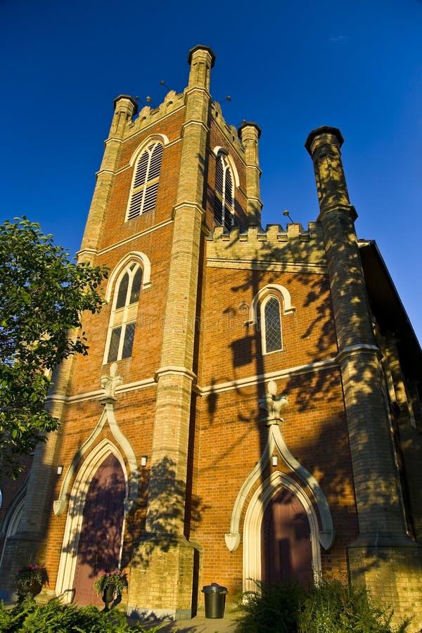 Pouca igreja anglicana da trindade imagens de stock royalty free