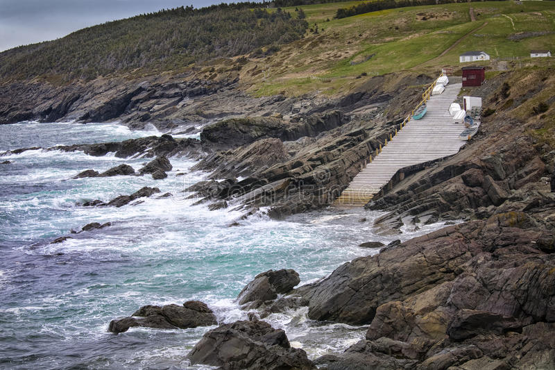 Pouch Cove Newfoundland royalty free stock photography