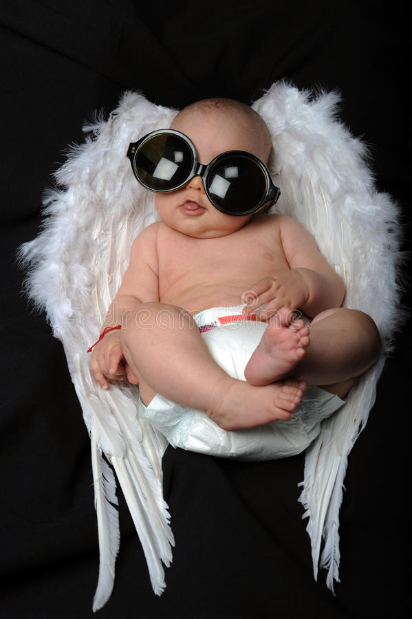 Pouco anjo fotografia de stock royalty free