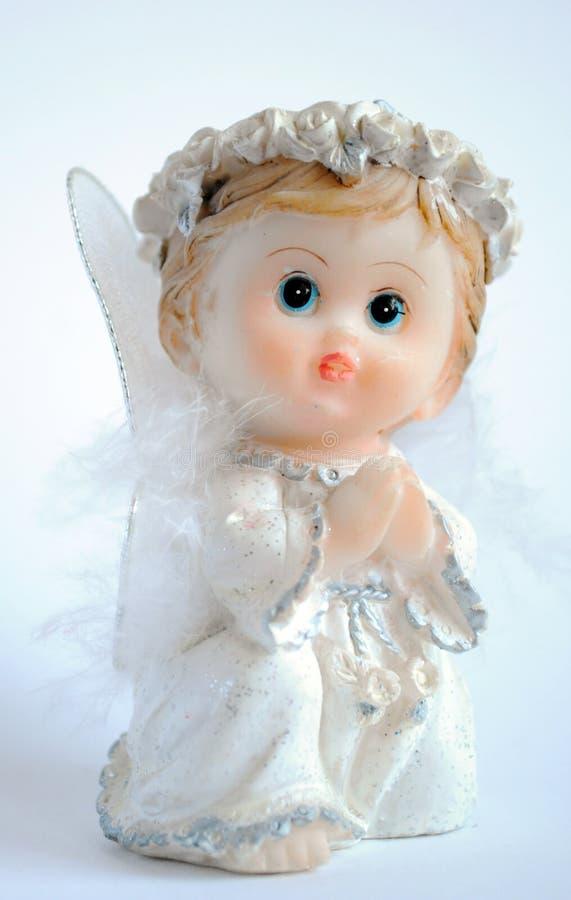 Download Pouco anjo foto de stock. Imagem de branco, asas, angel - 12803194
