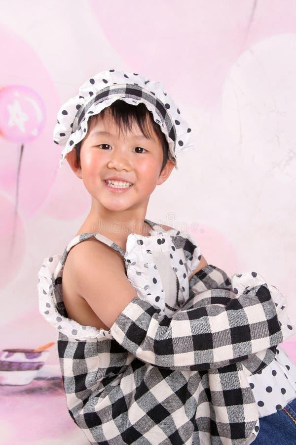 Pouco anjo chinês fotos de stock