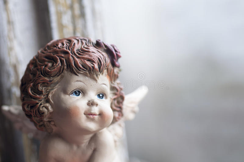 Pouco anjo da guarda fotos de stock royalty free