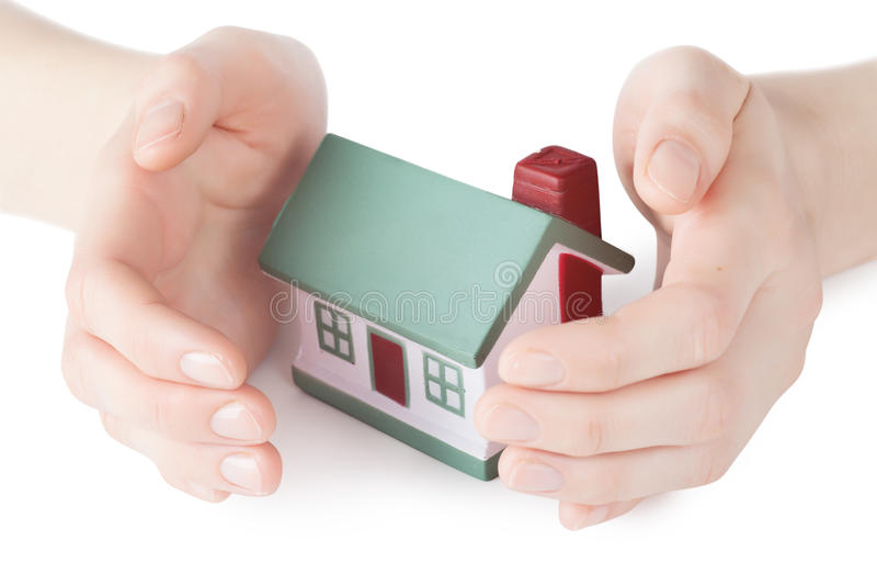 Segurança da casa imagem de stock