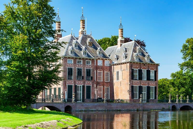 Pouco castelo próximo voorschoten, Países Baixos fotos de stock royalty free
