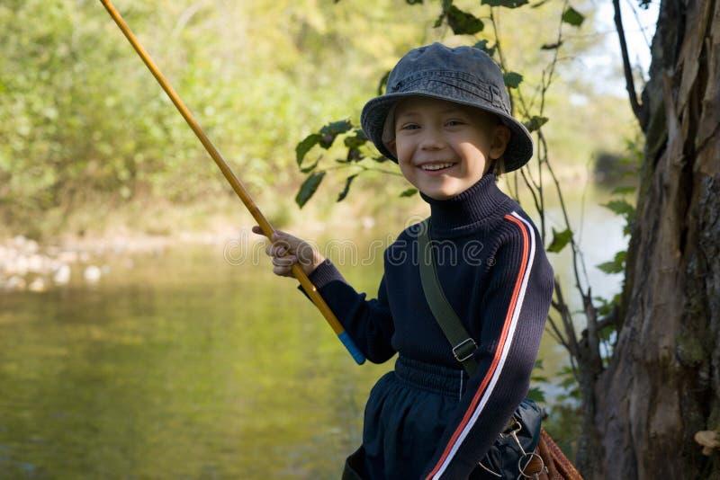 Pouco fishman foto de stock royalty free